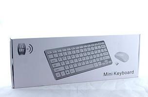Беспроводная компьютерная клавиатура и мышка Wireless k03 / Клавиатура + Мышка