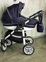 """Детская коляска универсальная 2 в 1 """"Baby Marlen"""" Blue"""
