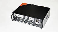 Усилитель AMP SN 555 BT, Усилитель  мощности звука с FM USB Блютуз + Караоке,  Аудио усилитель