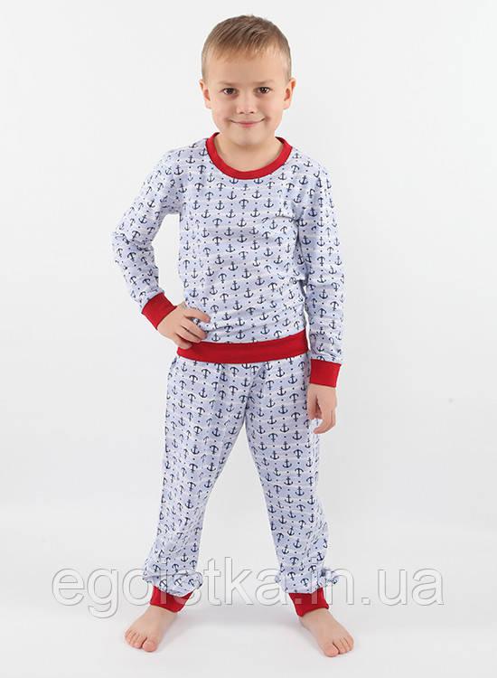 Красивая пижама для мальчиков (в размер 104 - 128), фото 1