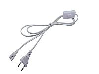 Соединительный шнур 1,5м 2PIN  для Т8 с вилкой и переключателем, фото 1