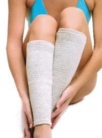 Гетры с биофотонами наколенники (тонкие) при недугах сосудов ног и коленей