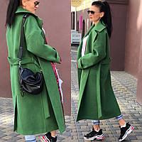 Женское зимнее кашемировое пальто (утеплитель slimtex 100)