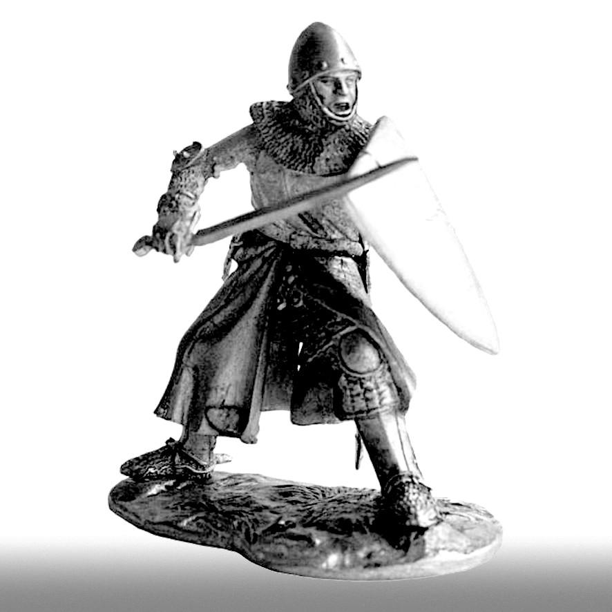 Рыцарь, вторая половина XIV века