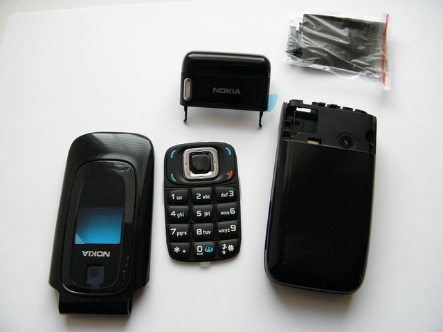 Корпус для Nokia 6085 чёрный с кнопками class AAA