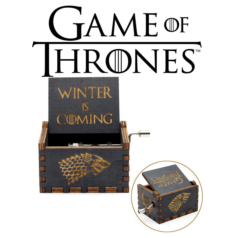 Музыкальная шкатулка Игра Престолов Game of Thrones Winter is coming