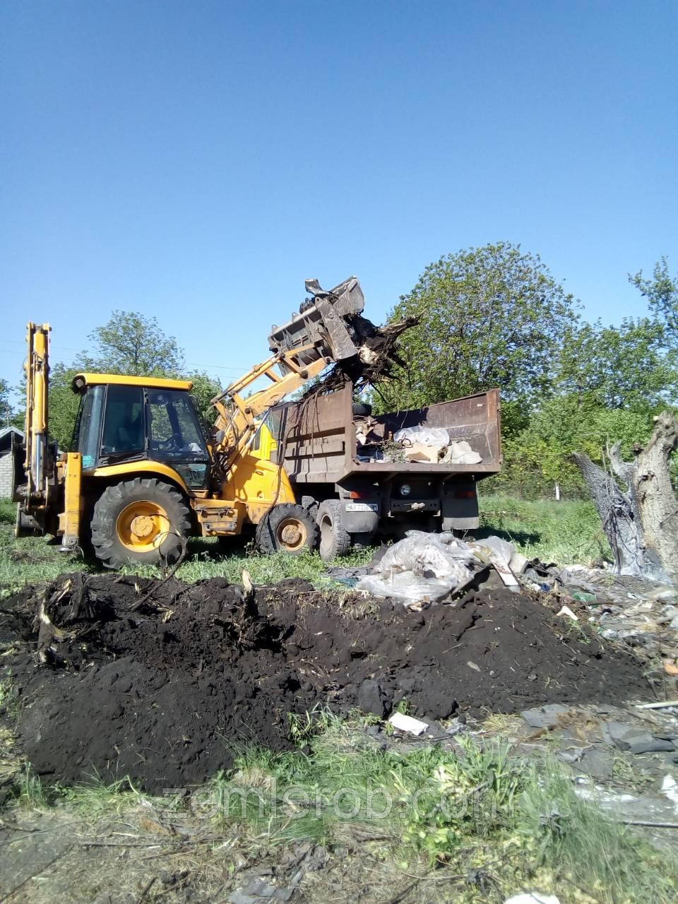 Уборка территории, расчистка участков, спил и корчевка, демонтаж