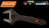 Разводной ключ с увеличенным захватом и супер тонкими губками Sturm 1045-11-200