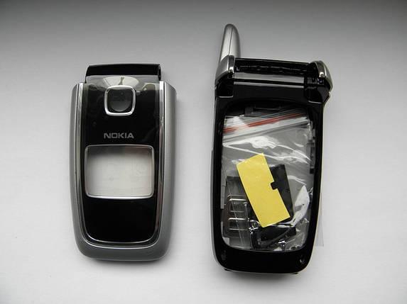Корпус для телефона Nokia 6101 чёрный class 2A без клавиатуры, фото 2