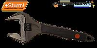Разводной ключ с увеличенным захватом и супер тонкими губками Sturm 1045-11-250