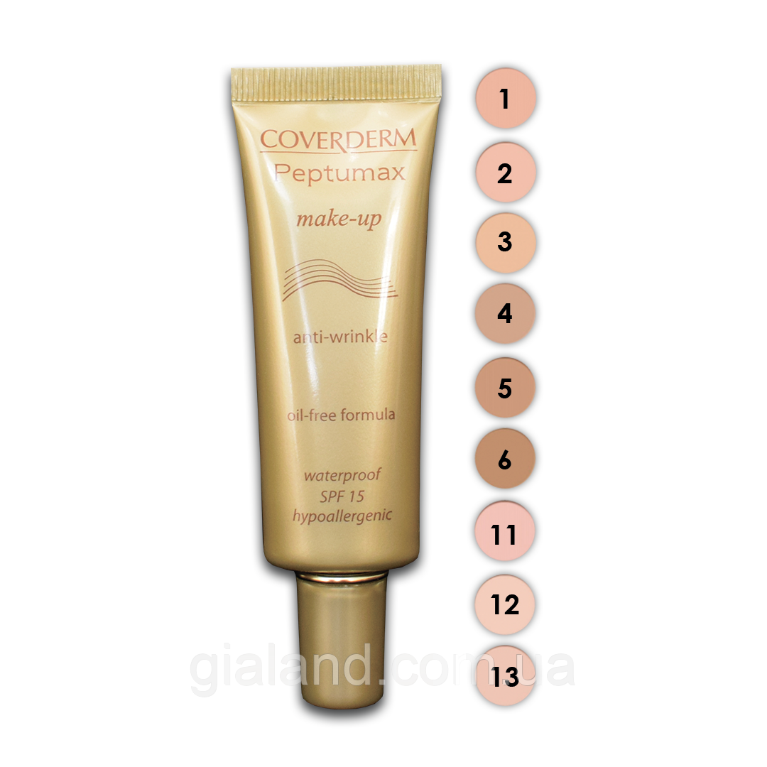 Coverderm Peptumax Make-up SPF15 Антивозрастной тональный крем