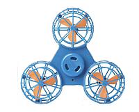 Летающий спиннер, Дрон Fidget Spinner Синий