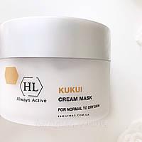 Крем-маска для сухой кожи CREAM MASK for dry skin Kukui Holy Land 250 мл