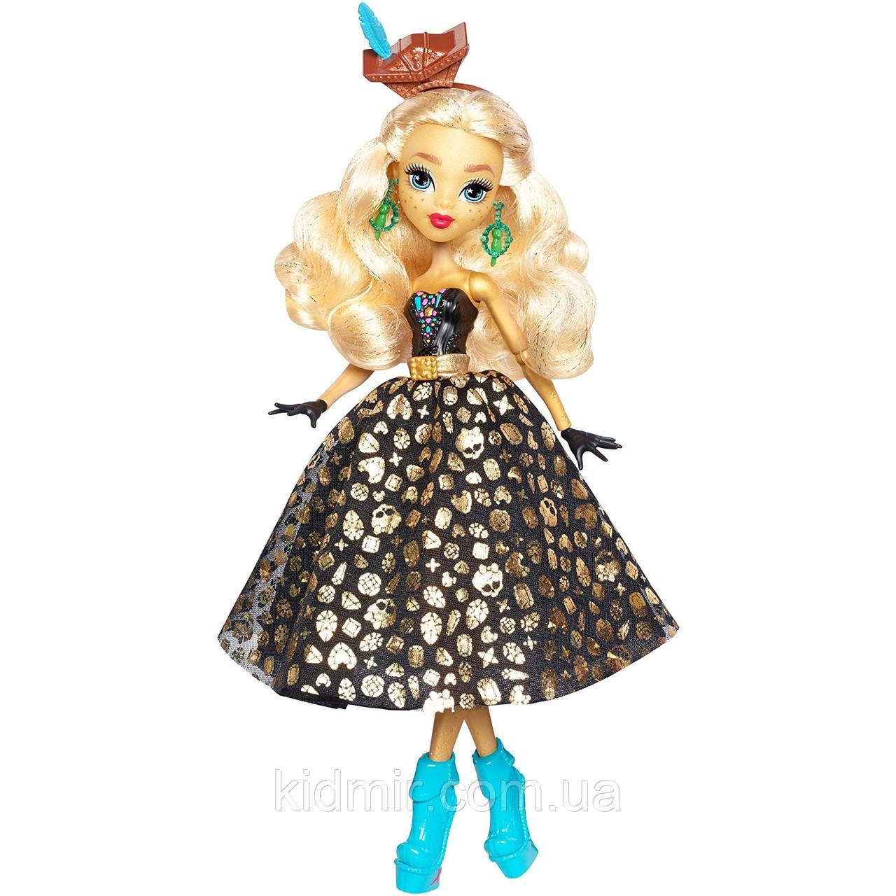 Кукла Monster High Дана Трежур Джонс (Dayna Treasura Jones) из серии Shriek Wrecked Монстр Хай