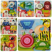 Деревянная игрушка Пазлы MD 0972