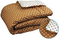 """Одеяло шерстяное демисезонное 205х140 Комфорт плюс чехол бязь ТМ """"Руно"""""""