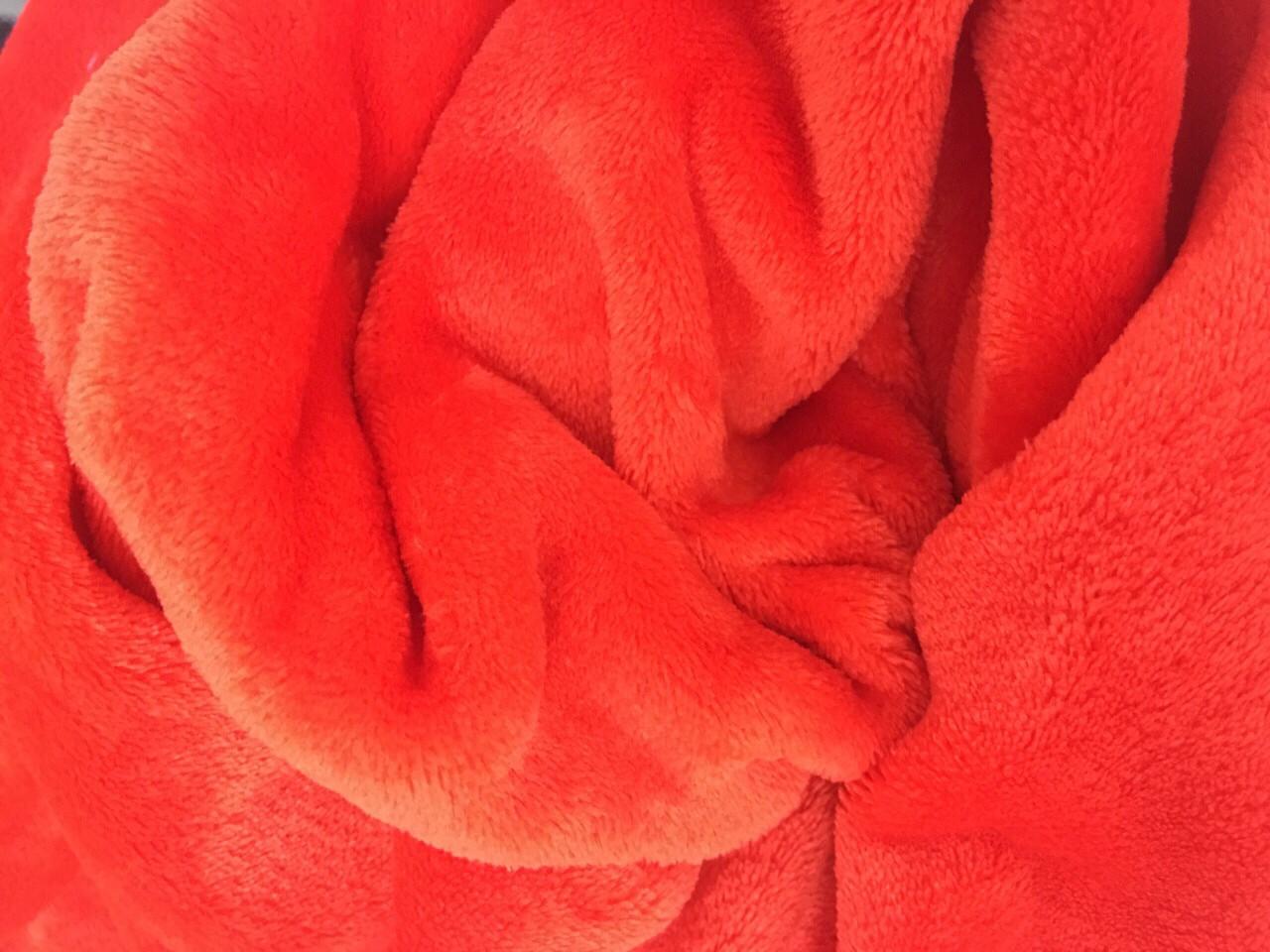 Плед 190*120, красный
