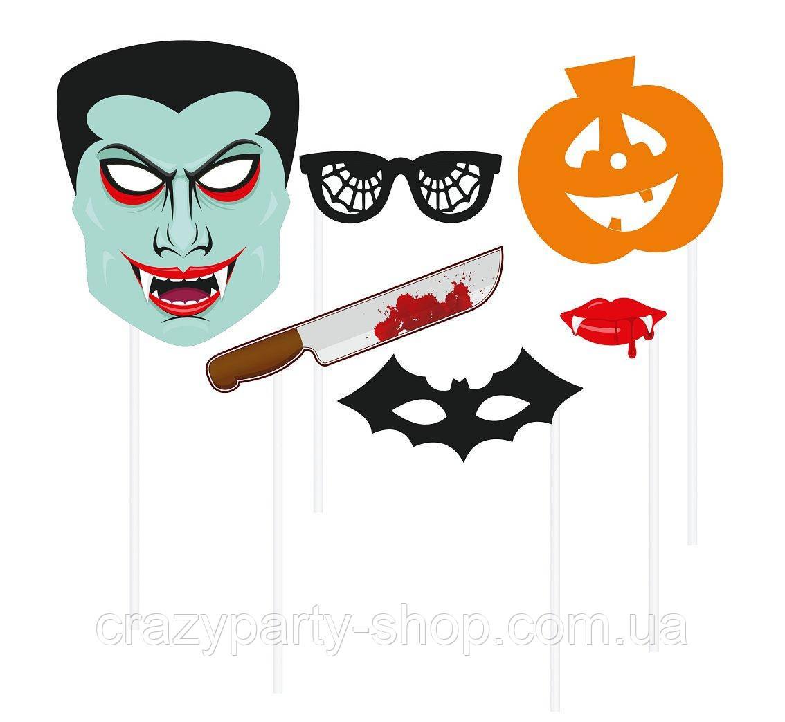 Фотобутафория Хелоуин Halloween 6 предметов
