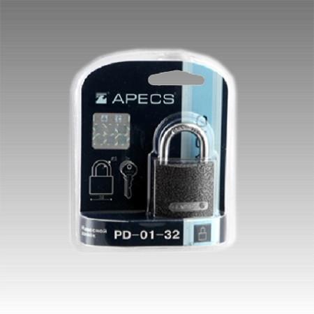 Замок висячий Apecs PD-01-32-Blister