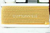 Хлопковый шнур-кант шафран, фото 1
