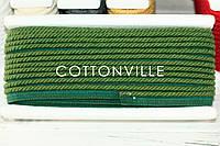 Хлопковый шнур-кант зеленый, фото 1