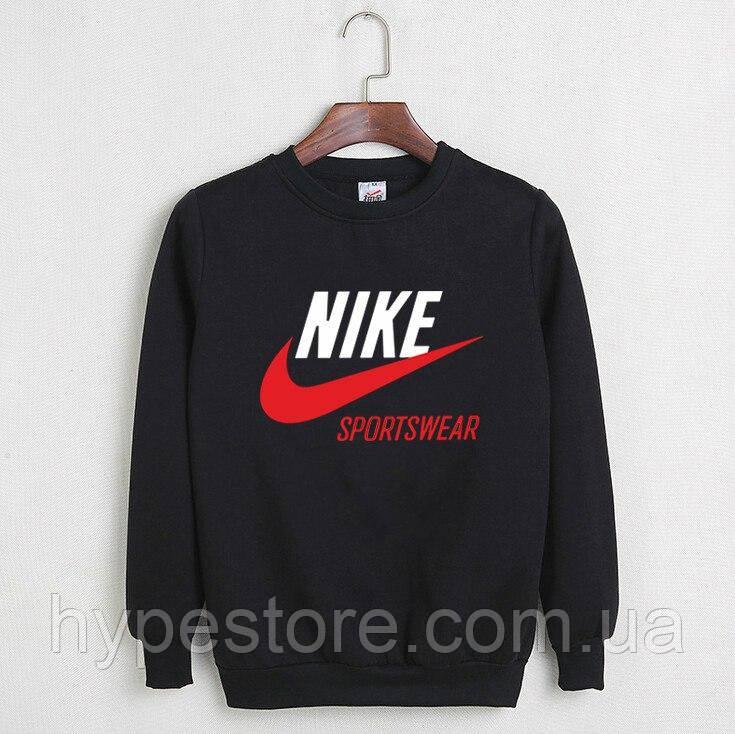 Мужской спортивный свитшот, кофта на флисе Nike Sportswear, Реплика