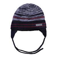 Зимняя детская шапка для мальчика Nano F18 TU 273 Navy. Размеры 2/3X и 4/6X.