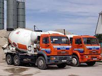 Бетон М-100, М-150, М-200, М-250, М-300, М-400. Раствор цементный. Низкие цены. Одесса и область.