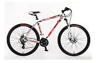 """Велосипед Optimabikes Bigfoot SKD 29"""" AM DD рама-21"""" Al 2015 (SKDCH-OP-29-011-1) бело-красный"""