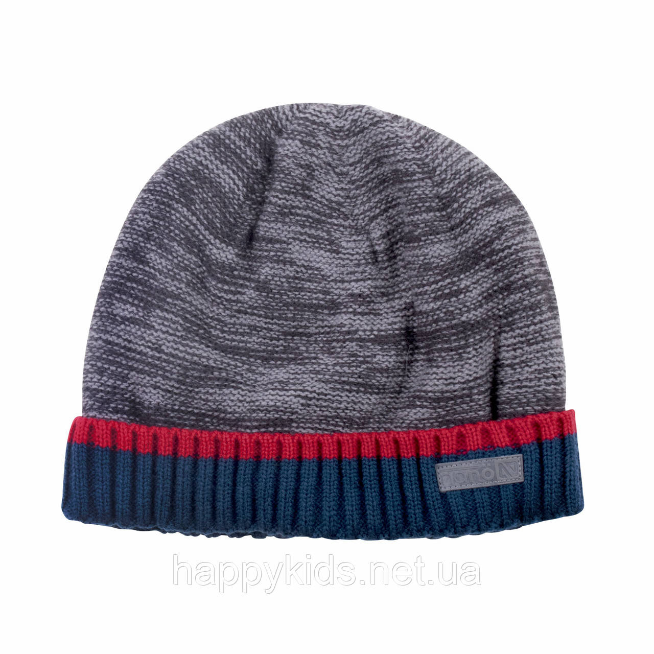Зимняя детская шапка для мальчика Nano F18 TU 275 Deep Gray. Размер 7/12.