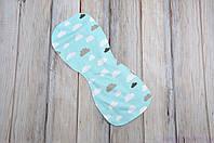 Полотенце для гигиены новорожденного, Облачка, фото 1