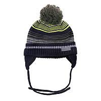 Зимняя детская шапка для мальчика Nano F18 TU 277 Green Tea. Размеры 2/3X - 4/6X.