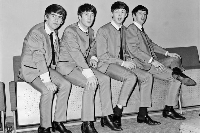 The Beatles in chealsea shoes
