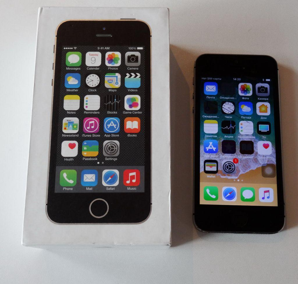 Apple Iphone 5s 16gb Grey Se