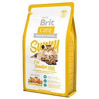 Корм для кошек Brit Care Cat Sunny I have Beautiful Hair Красота шерсти, 7 кг