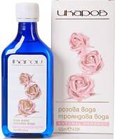 Розовая вода, нежный уход для лица и волос, 125мл, Икаров, Болгария
