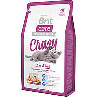 Корм Brit Care Cat Crazy I am Kitten для котят, 0,4 кг