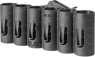Патронташ FAB Defense на 6 патронов 20 кал. Цвет - черный,на планку Пикатинни