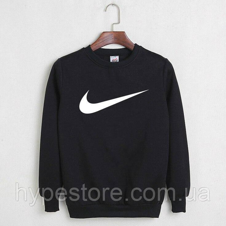 Мужской спортивный свитшот, кофта на флисе Nike, найк, Реплика
