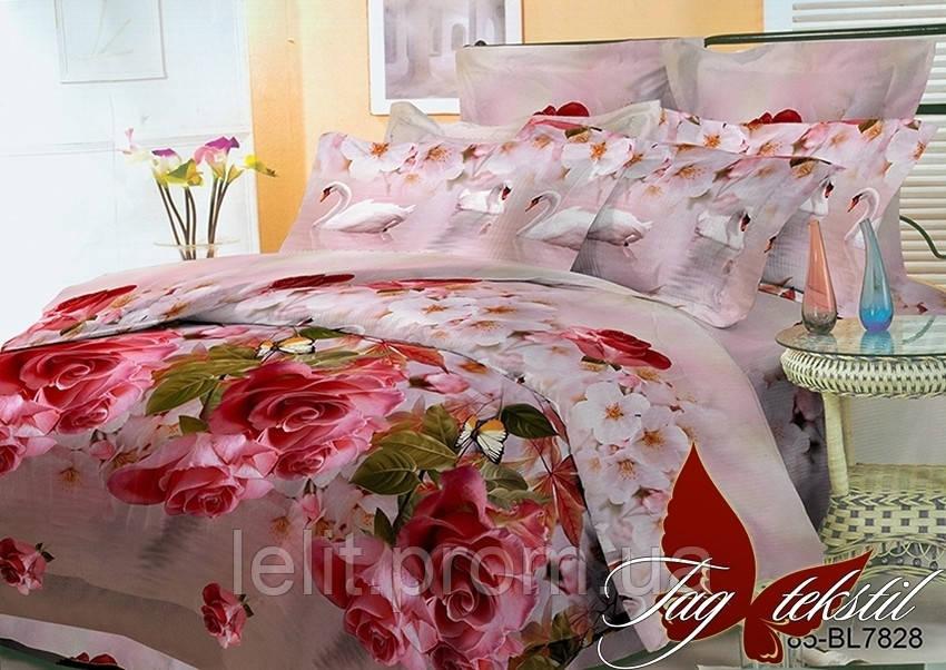 Полуторный комплект постельного белья BR7828