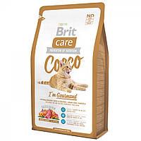 Корм Brit Care Cat Cocco I am Gourmand для привередливых кошек, 7 кг