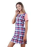 Ночная рубашка в клеточку (в размерах XS - 2XL ), фото 1