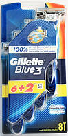 Набор станков для бритья Gillette Blye3 6+1