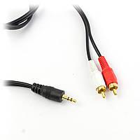 Аудио кабель 2RCA - 3.5 мм 3м