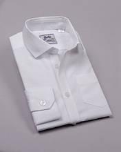 Рубашка белая возраст 7-16 лет