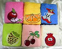 Полотенца махровые кухонные - Merzuka - Fruits - 6 шт. - 30*50 - 100% хлопок - Турция - (kod1741)