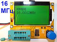 T4 РУССКОЕ МЕНЮ прошивка 1.14к, кварц 16 МГц + ГЕНЕРАТОР тестер ESR + LCR метр m328 Т4 тестер полупроводников