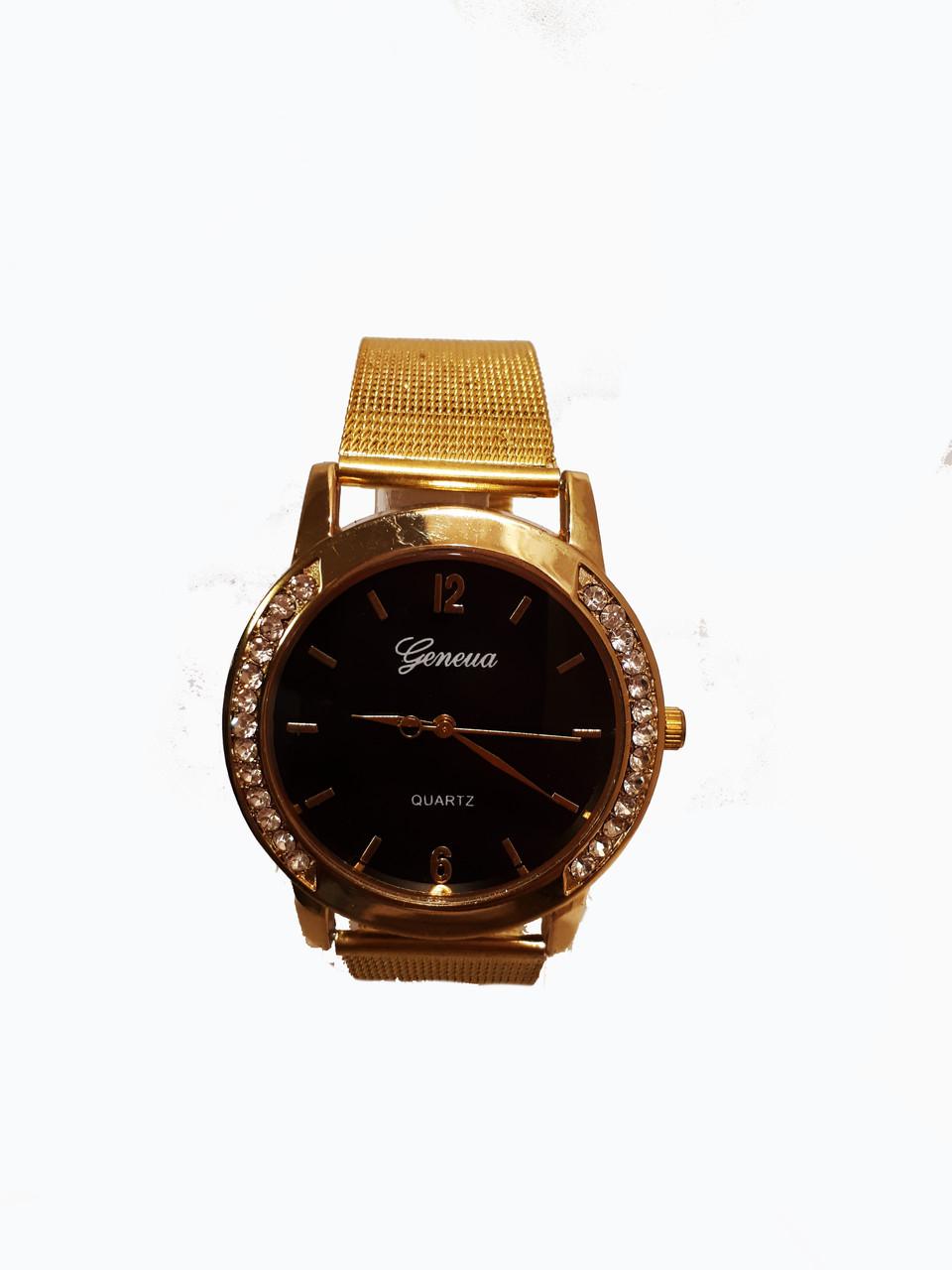 f55685af6005 Часы Женские Geneva Afina Черные (GA-0325B) — в Категории
