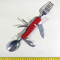 Нож складной Т017 ложка +вилка
