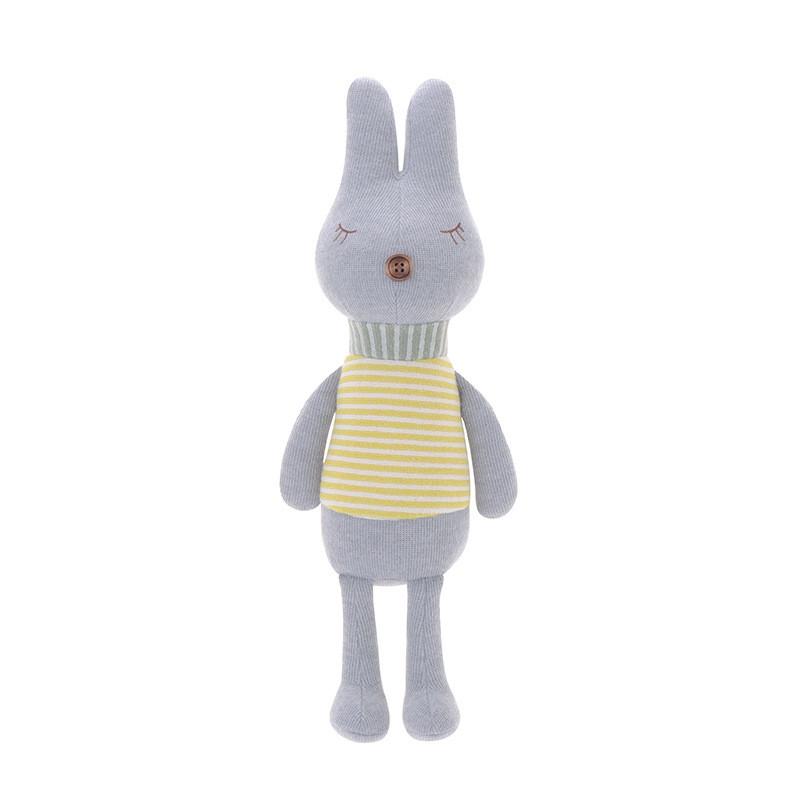 Мягкая игрушка Кролик в полоску, 38 см Metoys